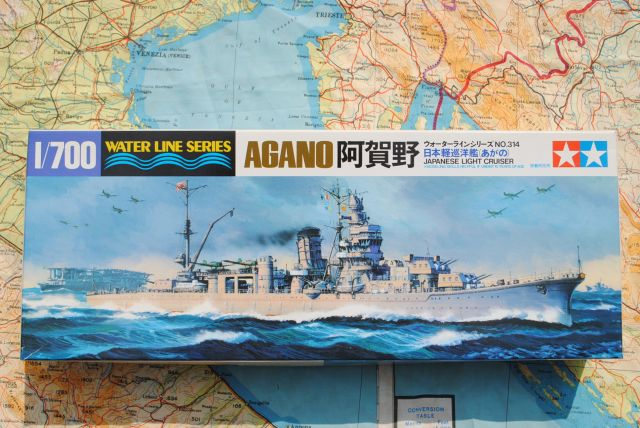 IPMS/USA Kit Review: Hasegawa 1/350 IJN Light Cruiser Yahagi