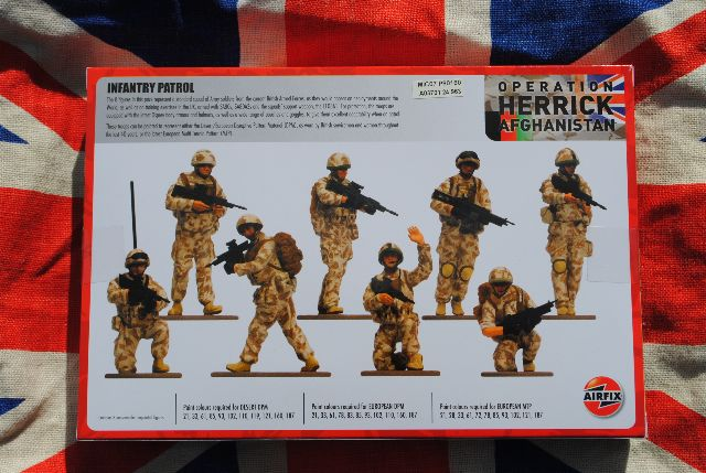 A03702 British Forces Vehicle Crew in 1:48  Neu und OVP Airfix  Nr