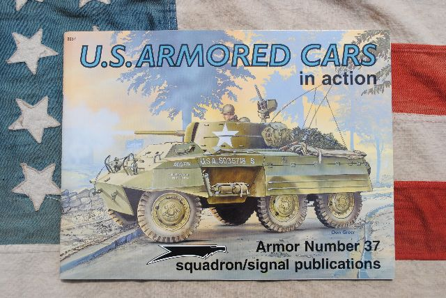 SQS0037   U.S. ARMORED CARS in ACTION