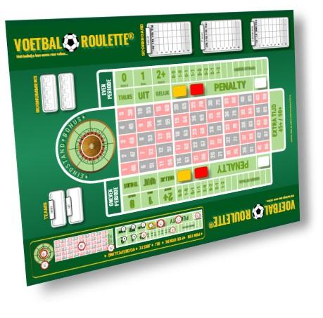 VR ORIGINAL EDITION (A3) VOETBAL ROULETTE VR ORIGINAL EDITION 'Groen'