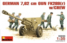 MA.35033 German 7,62mm Gun FK288(r)  w/Crew
