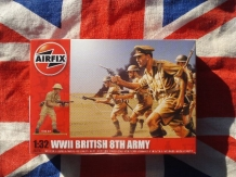 Airfix A02707  British 8th Army