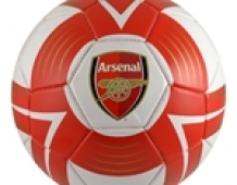 "AR00127 Arsenal FOOTBALL ""Wit/Rood"" Cyclone"
