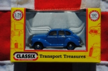 "Classix EM76814 Austin A-40 ""Devon"" 4-door Saloon - Streamline Blue"
