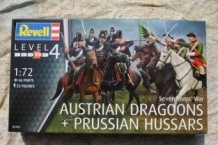 "Revell 02453 Austrian Dragoons with Prussian Hussars ""Seven Year's War"""