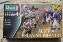 "Revell 02452 Austrian Infantry with Prussian Infantry ""Seven Year's War"""