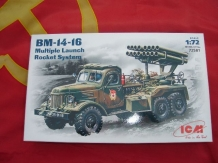 ICM 72581  BM-14-16 Multi Launch Rocket System