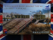 CB.35012  W.W.II ALLIED BAILEY BRIDGE Type M2