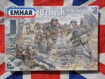 EMHAR 7201   British WWI Infantry with Tank Crew