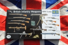 Master Box MB35109  British Infantry Weapons WWII era
