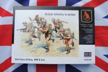 Master Box MB3580  British 8th Army Infantry in action