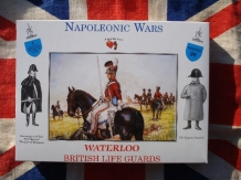 A CALL to ARMS 3226  BRITISH LIFE GUARDS Britse soldaten Waterloo