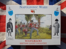 A CALL to ARMS 3209  British Line Infantry Britse soldaten Waterloo