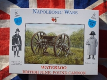 A CALL to ARMS 3223  British nine-pound cannon Brits kanon Waterloo