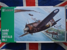 SH.32013  Buffalo Mk.I model 339E  ''decals KNIL-LM ''