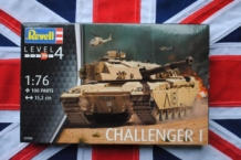 Revell 03308 CHALLENGER I Royal British Army Tank