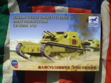 "BRONCO CB-35006  Italian CV3/33 TANKETTE series II ""Early Production"""