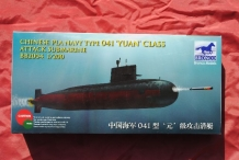 "BB2004  Chinese PLA NAVY Type 041 ""YUAN"" Class Attack Submarine"