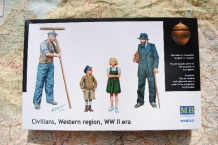 Master Box LTD 3567  Civilians, Western region, WWII era