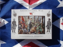 A CALL to ARMS 3216  CONFEDERATE INFANTRY Amerikaanse burgeroorlog