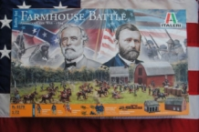 Italeri 6179 Farmhouse Battle American Civil War - 1864