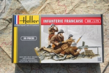 Heller 49602  FRENCH INFANTRY 1940