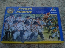 Italeri 6043  French Infantry American War of Independence