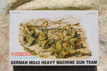 DML6064 GERMAN MG42 HEAVY MACHINE GUN TEAM