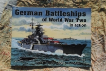 SQS4023  German Battleships of World War Two in action