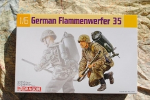 DML35037  GERMAN FLAMMENWERFER 35