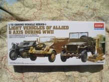 AC01310 Light Vehicles of Allied & AXIS during WWII