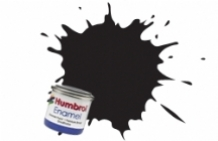 Humbrol 0021 Gloss Black  14ml