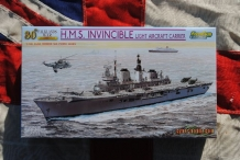 CH7128  H.M.S.INVINCIBLE R05 Light Aircraft Carrier Royal Navy