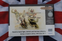 Master Box MB3592  Hand-to-hand Fight British and German Infantry. Battle