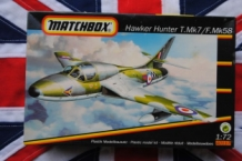 Matchbox 40117 Hawker Hunter T.Mk7 / F.Mk58