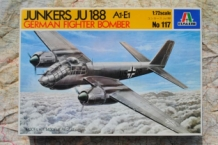 Italeri 117 JUNKERS Ju188 A1-E1 German Fighter Bomber