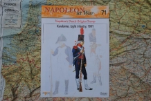 OPNV.071  Napoleon's Dutch-Belgian Troops Karabinier, Light Inf