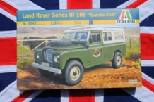 "Italeri 6542 Land Rover Series III 109 ""Guardia Civil"""