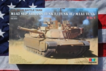 Rye Field Model RM-5004 M1A2 SEP ABRAMS TUSK I / TUSK II M1A1 TUSK U.S.Main Battle Tank