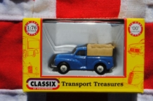 Classix EM76632 Morris Minor Pick Up - Blue with rear cover