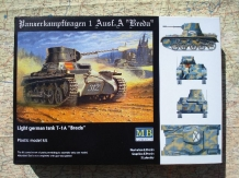 Master Box MB3503  Panzer I Light German Tank T-1A 'Breda'