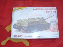 ZVE3531  SU-100 Soviet Self-Propelled Gun