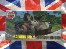 Airfix A02325  Saladin Mk 2 Armoured Car