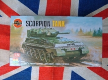 Airfix A01320  FV101 Scorpion Light Armored reconnaissance Vehicle