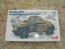 ICM 72411  Sd.Kfz.222 German Light Armoured Vehicle