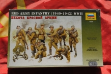 ZVE3526  SOVIET RED ARMY INFANTRY 1940 - 1942 WWII