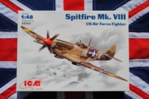 ICM 48065 Supermarine Spitfire Mk.VIII US Air Force Fighter