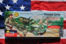Monogram 85-0035 U.S.Army Personnel Carrier M3A1 Combat Zone Armored Vehicle