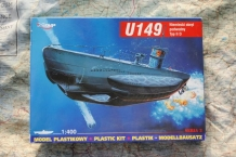 MIH40026  U-149 German U-Boat Type IID