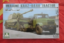TAK2019 UKRAINE KRAZ-6446 TRACTOR with ChMZAP-5247G SEMI TRAILER